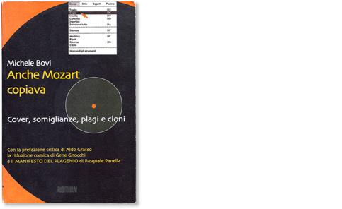Anche Mozart copiava. Cover, somiglianze, plagi e cloni