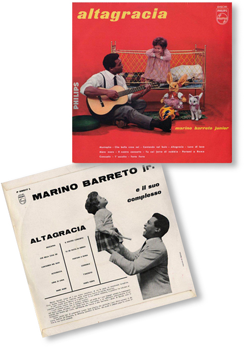 "Don Marino Barreto Junior ""Altagracia"" (LP, 1959)"