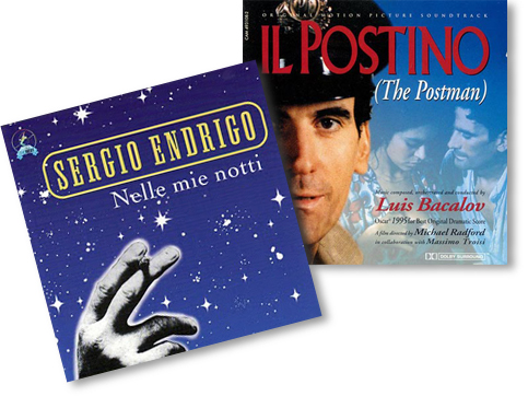 Luis Bacalov Sergio Endrigo - Il Postino - Nelle mie notti