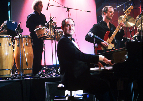 Neil Sedaka in 1984 at the Bussoladomani, Viareggio Italy.