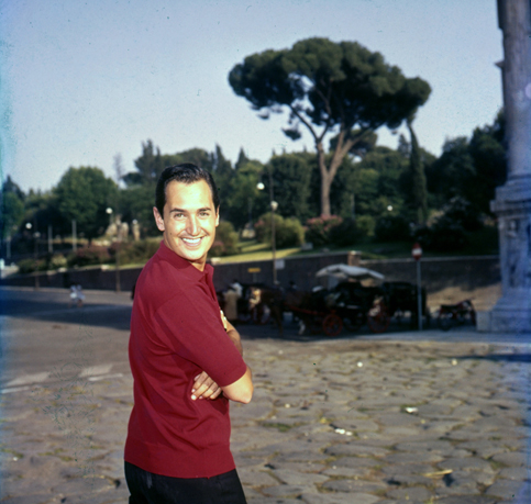 Neil Sedaka in Rome (1962): the Caelian Hill