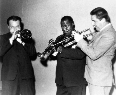 Nunzio Rotondo, Louis Armstrong, Nini Rosso