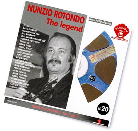 """Nunzio Rotondo """"The legend"""",raccolta di successi nella collana Via Asiago 10 Radio Rai."""