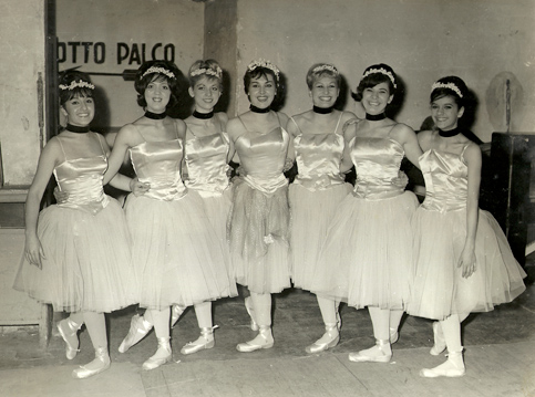 Ballerine del Teatro Alfieri di Torino nel 1962