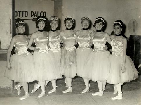 Ballerine del Teatro Alfieri di Torino nel 1962